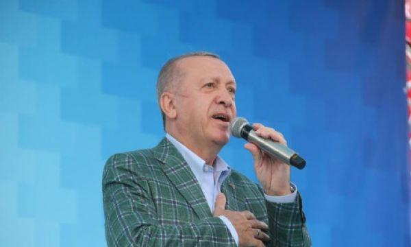 Cumhurbaşkanı Erdoğan dadaşların gönlünde