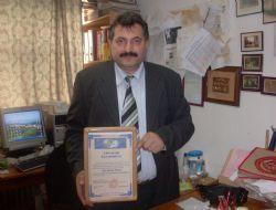 Aytmatov Akademisi'nden Kolcu'ya Ödül