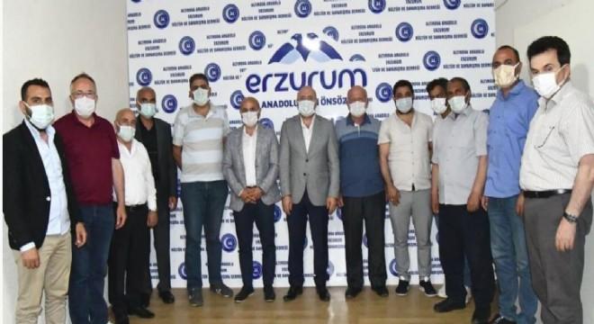 Altınova'da Erzurum gündemi