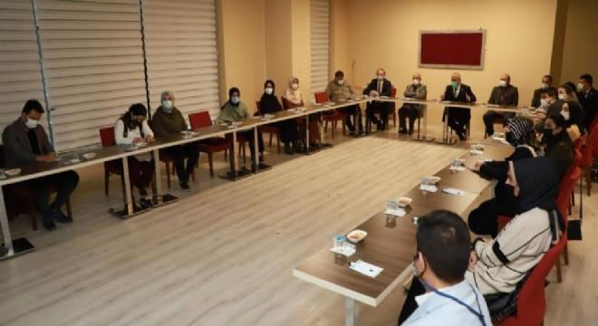 Atatürk Üniversitesinde Covid-19 aşısı gündemi