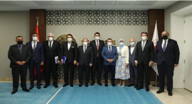 Başkent'te Erzurum mesaisi