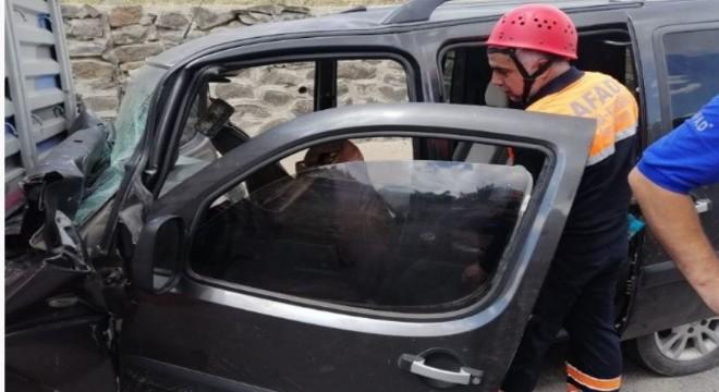 Bingöl yolunda trafik kazası: 4 yaralı