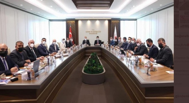 Çevre ve Şehircilik Bakanlığında Erzurum gündemi