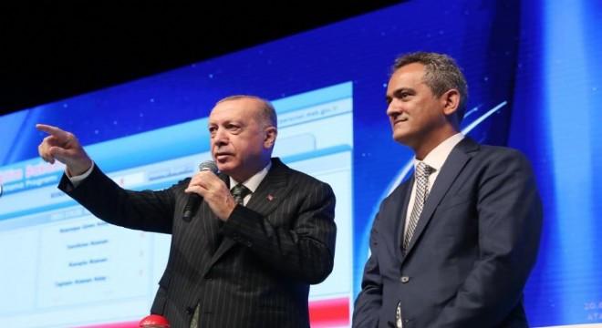 Cumhurbaşkanı Erdoğan Eğitim vizyonunu paylaştı