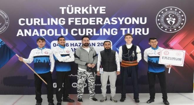 Curlingte Erzurum farkı