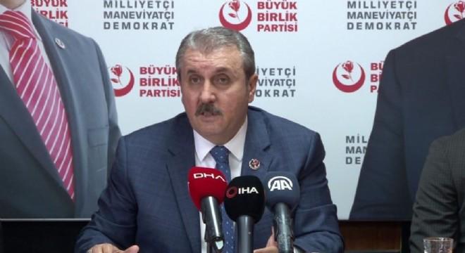 Destici: Doğu Türkistan hepimizin meselesidir