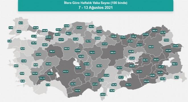 Erzurum'da vaka sayısında dikkat çekici artış !