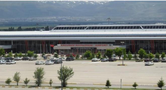 Erzurum Havalimanı performans yükseltti