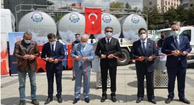 Erzurum'da 'Süte Değer Projesi'