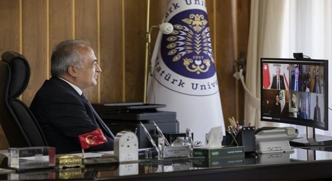 Erzurum'dan KKTC'ye Yüksek Öğretim köprüsü