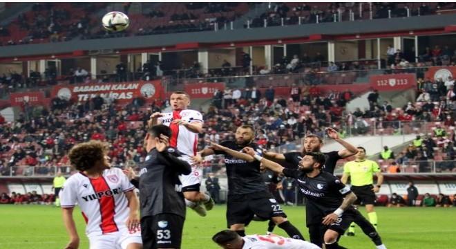 Erzurumspor 2 puan kaybetti