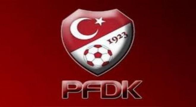 Erzurumspor ve Kaptan Yumlu PFDK'lık oldu