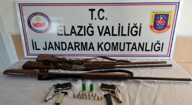 Ruhsatsız silah operasyonu: 1 gözaltı