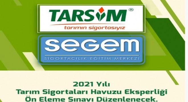 TARSİM Eksper sınavı Erzurum'da yapılacak