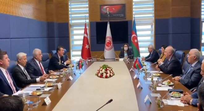 TBMM'de Azerbaycan gündemi