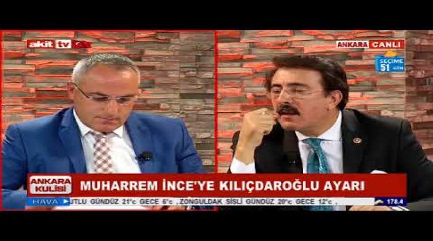 AKİT TV ANKARA KULİSİ PROGRAMI 03.05.2018