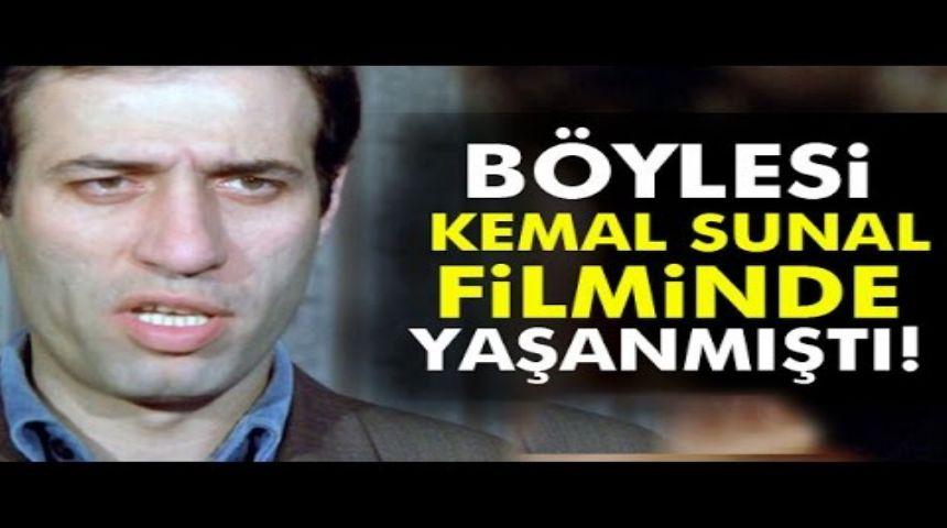 Kemal Sunal Filmlerini Aratmayan Olay