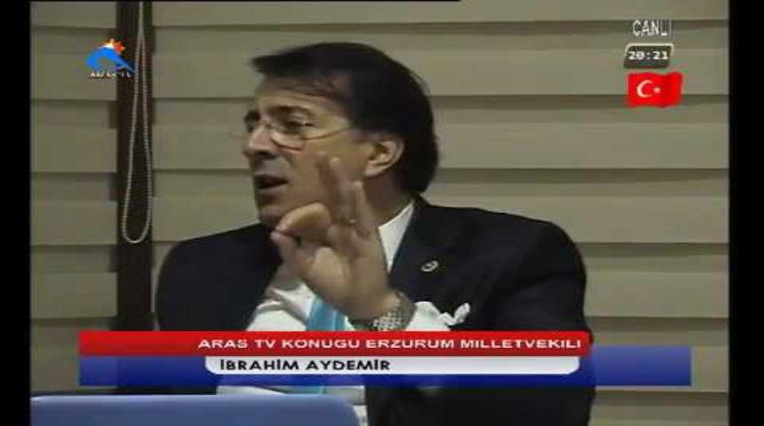 Erzurum Milletvekili İbrahim Aydemir Arastv'de Referandumu Değerlendirdi