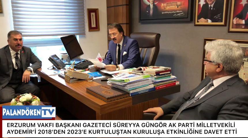Erzurum Vakfı Başkanı Süreyya Güngör